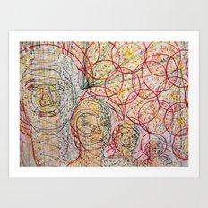 Brother's Good Vibrations Art Print