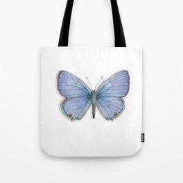 Butterflies: Xerces Blue Tote Bag