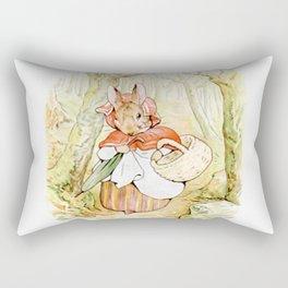 Beatrix Potter, Rabbit Rectangular Pillow