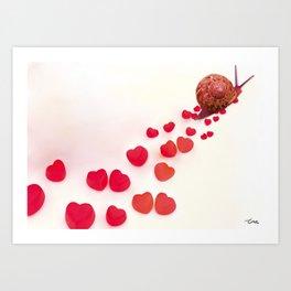 Enamorado Art Print