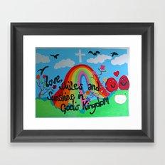 'Love and Sunshine' Framed Art Print