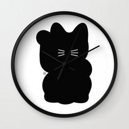 Maneki-neko Wall Clock