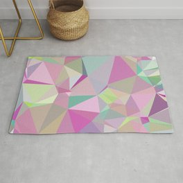 Colorful Triangles 3 Rug