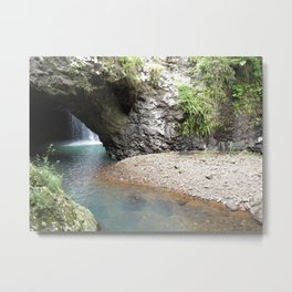 Natural Bridge (Arch) Metal Print