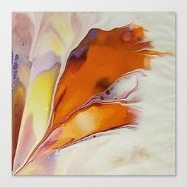 Autumn Windblown Leaf Canvas Print