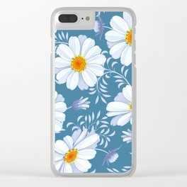 FIELD OF DAISIES Clear iPhone Case