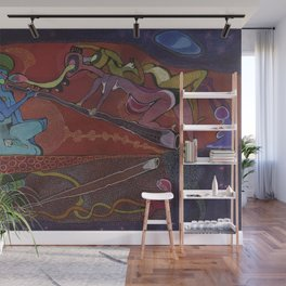 Frequencies of the Ancestors  Wall Mural