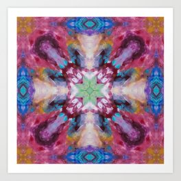 Alight With Magic Art Print