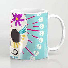 Dios De Los Muertos Day of the Dead Sugar Skull Fiesta Coffee Mug