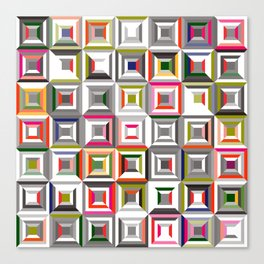 geometric 08 Canvas Print
