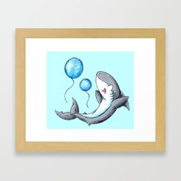 Bubble Balloons! Framed Art Print