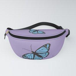 Blue viceroy butterfly Fanny Pack