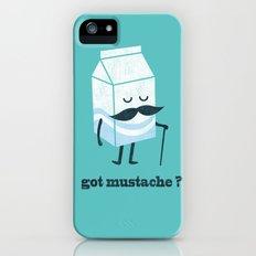 Got mustache? Slim Case iPhone (5, 5s)