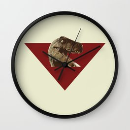 Simplistic Dino! Wall Clock
