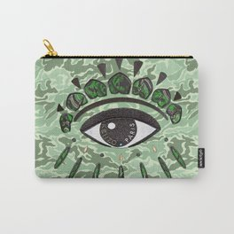 Kenzo eye green Carry-All Pouch