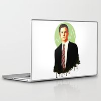 dale cooper Laptop & iPad Skins featuring Cooper by chazstity