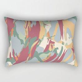 Jungle Camouflage Pattern Rectangular Pillow