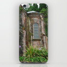 Eglise du Lac de Furnas iPhone Skin