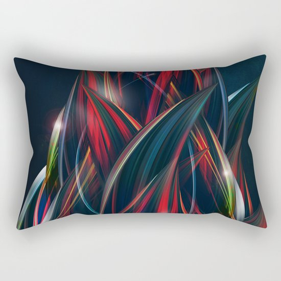 Fires of Babylon Rectangular Pillow