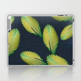 Tillandsia in dark blue Laptop & iPad Skin