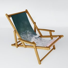 Beaches and Cream Sling Chair