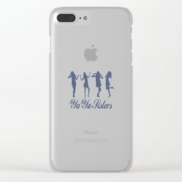 Ya Ya Sisters Clear iPhone Case