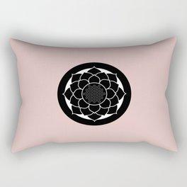 Padma / Lotus Flower Rectangular Pillow
