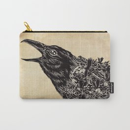 CROW-ded Carry-All Pouch