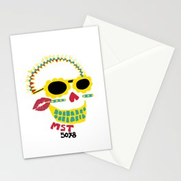 Day of the Dead Masato skull Stationery Cards