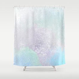 Lavender Ice Shower Curtain