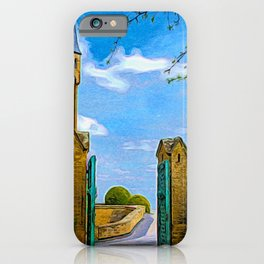 The Gates Of Hohenzollern Castle iPhone Case