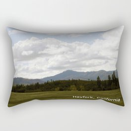 Cloudy Day in the Country... Rectangular Pillow
