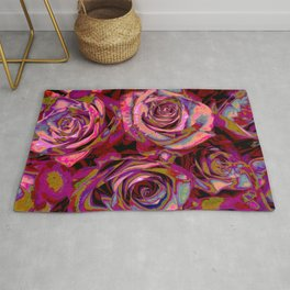 Extreme Roses Rug