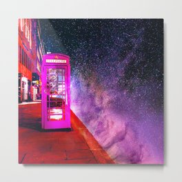 SPACE PHONE ON JUPITER Metal Print
