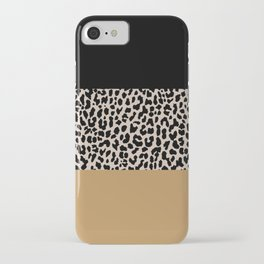 Leopard National Flag XII iPhone Case