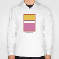 rothko Hoodies featuring Simplified Rothko by ELCORINTIO
