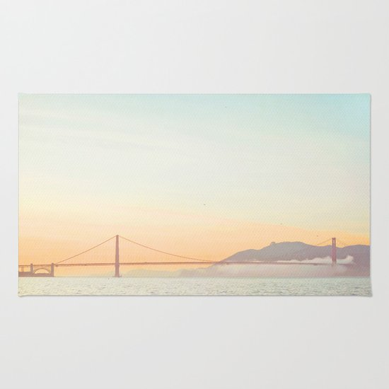 Pastel Golden Gate Rug