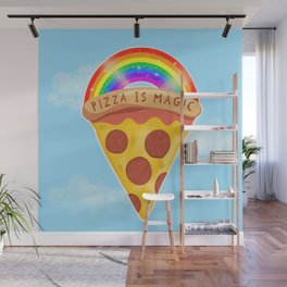 Pizza Is Magic Wall Mural