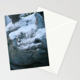 Snow On Rino Stationery Cards