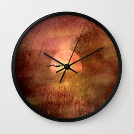 Morning hour Wall Clock