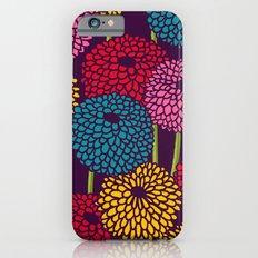Full of Chrysanth Slim Case iPhone 6s
