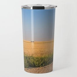 Harvest Near Garrison, ND 5 Travel Mug