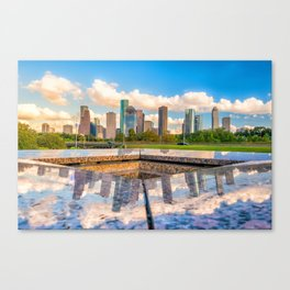 Houston 02 - USA Canvas Print