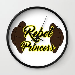 Rebel Princess Wall Clock