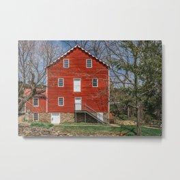 Wallace Cross Historic Grist Mill York County Pennsylvania Metal Print