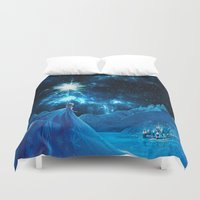 thorin Duvet Covers featuring Frozen - Elsa by Thorin