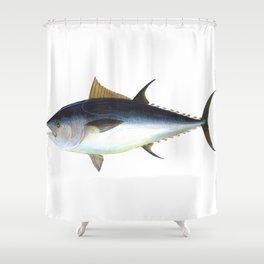 Bluefin Tuna illustration Shower Curtain
