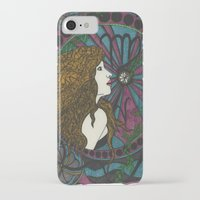 virgo iPhone & iPod Cases featuring Virgo by Laura Jean
