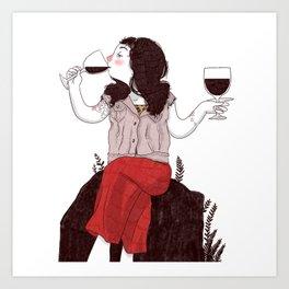 Dioniso - Wine addicted Art Print
