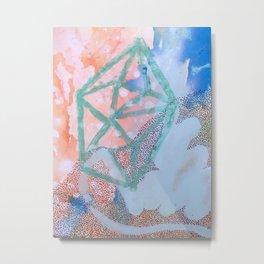 Twelve Triangles Metal Print